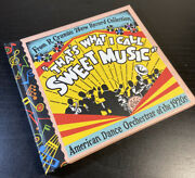 R. Crumb's That's What I Call Sweet Music Cd Robert 78rpm 1920's Orchestra 1999