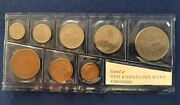 Norway Rare 1967 Coin Set From Royal Mint - Total Of 7 Coins