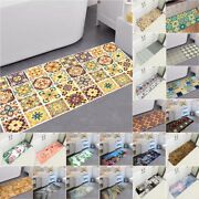 Self Adhesive 3d Bathroom Kitchen Wall Stair Non Slip Tile Stickers Floor Home