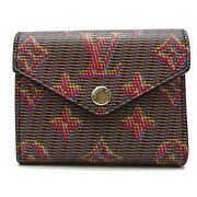 Louis Vuitton Portofeuil Zoe Tri-fold Wallet M68673 Discontinued Lv Pop Used