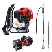 Backpack Trimmer Brush Cutter Hedge Trimmer Efficient Trimming Tool 1.25kw/1.7hp