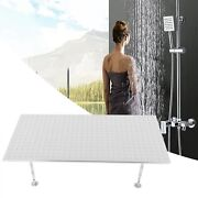 304 Stainless Steel Shower Head Ceiling/wall Mount Brushed Rain Sprayer