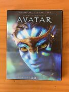 ✨sealed✨avatar Blu-ray/dvd, 2012, 2-disc Set, Limited 3d Edition New