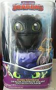 Dreamworks Dragons, Flying Toothless Interactive Dragon With Lights And Sounds New