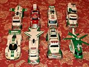Lot 8 Hess Trucks Complete Sets 2009-2012 2014-2017 Tested Works As Expected