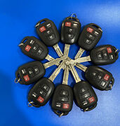 Lot Of10 Original Toyota Camry 14-19 Keyless Entry Remote Oem Fob H-chip 8a Us