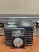 20 X 2017 S.african Krugerrand 50th Ann 1oz Silver Ngc Sp70 First Release W/case