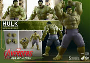 1/6 Hot Toys Mms 287 Age Of Ultron - Aou Hulk - Deluxe Set - New Sealed Shipper