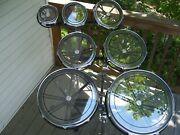 Complete Set Of 7 Remo Rototom Drums W/ Stands 6-8-10-12-14-16-18 Rototoms Nm