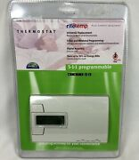 Ritetemp 5-1-1 Programmable Thermostat 781-733 Universal Replacement Brand New