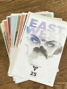 East Of West Comic Run From Issue 25 To 43 Plus Bonus- High Grade- 20 Issues