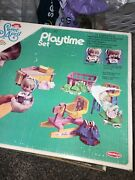 Vintage 1972 Sweet April Busy Day Playset Box Extra Vintage Accessories Box Doll