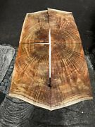 """Instrument Grade 5a Curly Koa Bookmatched 4@20-23""""x12""""x4mm"""