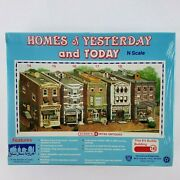 Ich Homes Of Yesterday And Today 16 Ritas Antiques N Scale Town Model Kit Sealed