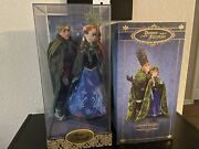 Disney Limited Edition Anna And Kristoff Doll