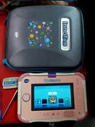 Vtech Pink Innotab 3 S Learning Tablet And Game Cartridge Stylus Hard Travel Case