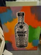 John Stango And039absolutand039 Original Acrylic On Canvas Painting Signed 23x31