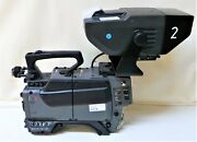 Sony Bvp-570 Color Video Camera + Bvf-55ce View Finder.