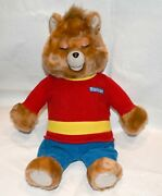 Vintage Teddy Ruxpin Working Everything Nos W/tape And Book - The Airship