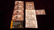 Us Mint Presidential 1 Dollar Coin Proof Sets - Complete 2007 - 2016 39+4 Coins