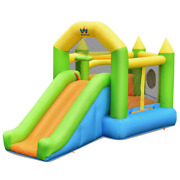 Inflatable Slide Bouncer Ball Pit Basketball Dart Game Without Blower