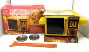 Vintage Betty Crocker Easy Bake Mini-wave Oven With Box Kenner