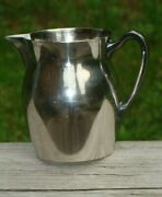 Poole Silver Co. 526 Epca Silverplate Pitcher ,authentic Reproduction
