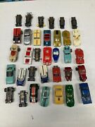 Slot Car Parts Bodies And Chassies Lot Of 34 Used