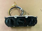 87-89 Ford Mustang Ac Heater Control Panel Fan Vent Switch W/ Knobs Factory Oem