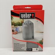 Weber Charcoal Grill Cover 7175, 18 - Fastening Straps- Grey - New