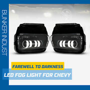 Bunker Indust Led Fog Lights Compatible For 2003-06 Chevy Silverado