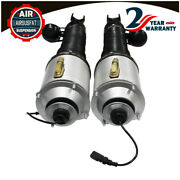 Pair For Bentley Continental Gt Flying Spur Front Air Suspension Strut 2003-2012
