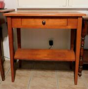 Palm Springs, Ca. Furniture Pick Up Only Antique Small Table Maple Usa Seller