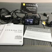 Nikon Coolpix P80 10.1mp Digital Camera Comes With Charger And 2 Batteries