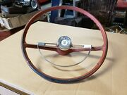 Nice Complete Steering Wheel W Horn Ring And Center Cap 1964 Nova Chevy Ii 1963