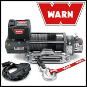 Warn M8-s 12v Electric Winch W/ Synthetic Rope - 8,000 Lb Pulling Capacity