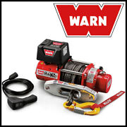 Warn 9.0rc 12v Electric Winch W/ Synthetic Rope - 9,000 Lb Pulling Capacity