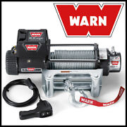 Warn 9.5xp 12v Electric Winch W/ Steel Wire Cable - 9500 Lb Pulling Capacity
