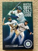 New 2021 Seattle Mariners Media Guide With Al Roy Kyle Lewis On Cover