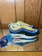 Nike Air Max 1/97 And039sean Wotherspoonand039 - Light Blue Wash - Aj4219-400 S 6