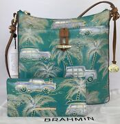 Nwt Brahmin Sold Out Dream Copa Cabana Katie Crossbody/ Ady Wallet