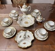 Antique Weimar 17010 25 Pieces Tea Setmade In Germany Gorgeous