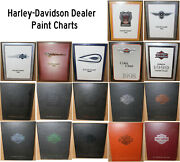 Harley-davidson Dealer Paint Charts - 1993 Thru 2011 While They Last Vg Cond -jp