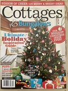 Cottages And Bungalows Magazine Christmas Decor Trees Wreaths December 2012