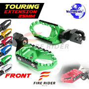25mm Extended Wide Front Footpegs For Yamaha Yzf 750 R Sp 93-99 94 95 96