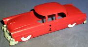 Lionel Ho 0068-50 Ford Rail Race Car Painted Red Car Body With Gray Bumpers