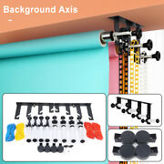 Manual Photography 4 Roller Wall Mounting Manual Background Support System