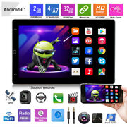 Rotatable 10.1inch Android 9.1 Hd Quad-core Car Mp5 Stereo Radio Player Gps Nav