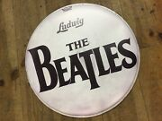 The Beatles/ludwig 22andnbsptribute Band Front Drum Head/skin Reproduction
