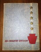 1946 Historical And Pictorial Review Of The 28th Infantry Division In Wwii, Book